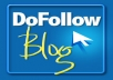 manually create 25 PR7 to PR4 Dofollow ACTUAL PAGE RANK Blog Comment Backlinks