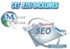 create 500 edu backlinks + 200 Low Obl Backlinks + 200 PR4 to PR1 Backlinks