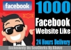 ADD 1000+ Facebook Like In Your Website/Web Page Within Few Hours Only