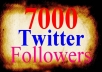 add 7000 twitter followers[Stay] to your twitter in 24 hours,dont lost followers...!!!!