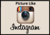 GIVE YOU 1000+ INSTAGRAM LIKE IN PICTURE WITH BETTER QUALITY