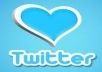 submit you 600+100 Twitter Followers 100% real and active on your account