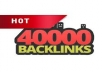 will make ★MONSTER 40,000★blog comment backlinks service