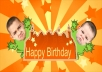 personalize you in the happy birthday greeting videopersonalize you in the happy birthday greeting video