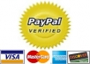Verified US Paypal Account