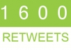 deliver 8000 Retweets and Favorites from 8000 unique profiles having 400,000 followers for