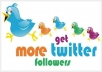 provide 114000 twitter follower with out needing password