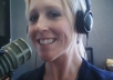 record a 120 word American female voice over ..!!!