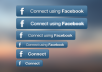 Create Facebook LOGIN / Connect option on website