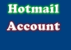 provide you 100 hotmail account within time with english name or whatever you want with GUARANTEED satisfaction