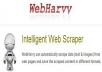 I will give you Webharvy , Intelligent Web Scraper , WebHarvy can automatically scrape data (Text, URLs and Images)  from web pages and save the scraped content in different formats