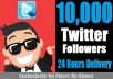 ADD 10,000+ Twitter FOLLOWER To Your Profile Within 24 Hours