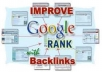 create 1,500++ Backlinks To Your Website Your Keyword And Submit It To Ping Sit