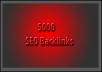 I will create 5000+ High PR8 to 0 BackLinks with Edu from PR and Authority Wiki Sites