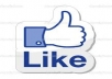 give you 710+ facebook likes,100% real and active user
