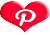 give you 110+ Pinterest Followers only