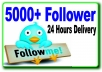 give you 4,000+ twitter followers in your account just 24 hours