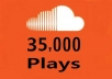 i will give 35,000 soundcloud plays in just 48 hours