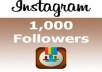 Will Give You 1,000+ Instagram Followers