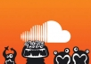 I will get you 3000 soundcloud plays and 1000 Downloads to Soundcloud track of your choice @!