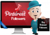 500+ pinterest followers and 50+ likes