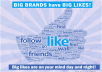 add 500+ Facebook Website likes to your Website or URL