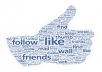 1000+ High Quality Facebook likes to your fan page with out admin access