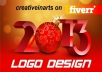 design a professional and attractive logo design for your website