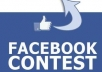 provide 1000+ real profile Likes/vote On Your 2 Facebook Picture , Status , Comment Or Non App Photo Contest within 24 hour 500 x 2 = 1000