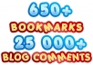 I will create Panda and Penguin Safe Super Social Link Pyramid , Social Pyramid with Over 650 bookmarks boosted by 25 000 blog comments@!@