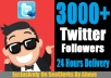 Give You 5000+ [Staying] Twitter Followers In Your Profile