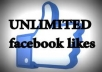provide You, Real Human Verified 30K+ High Quality Facebook Likes for your any Fanpage