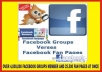 Post Your Link to 4,000,000 (4 million) Facebook Groups Members & 25,500+ Facebook Fans