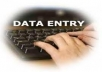 complete web to ms word, excel data entry and pdf to ms word, excel data entry!!@@!!