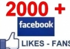 give 1500+ real looking like facebook fans USA, uk for your facebook fanpage with fast delivery !@!!!