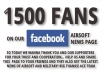 provide 1500+ REAL Looking Facebook Likes to your facebook, most from Usa, Have good profile and picture !@@!