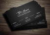 create simple, professional business cards