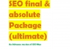 SEO final & absolute Package (Ultimate)