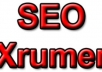 make 10,000 eminent backlinks using Xrumer profiles