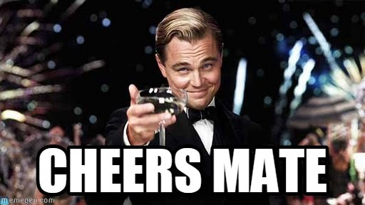 Image result for cheers mate
