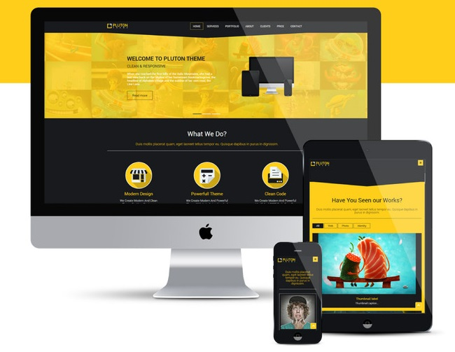 Design responsive HTML single webpage with Bootstrap for your ...