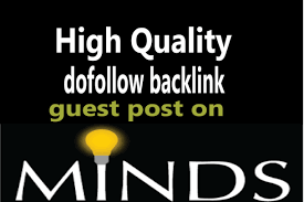 Write and Publish a High Quality Guest Post on MINDS DA 68 for $5