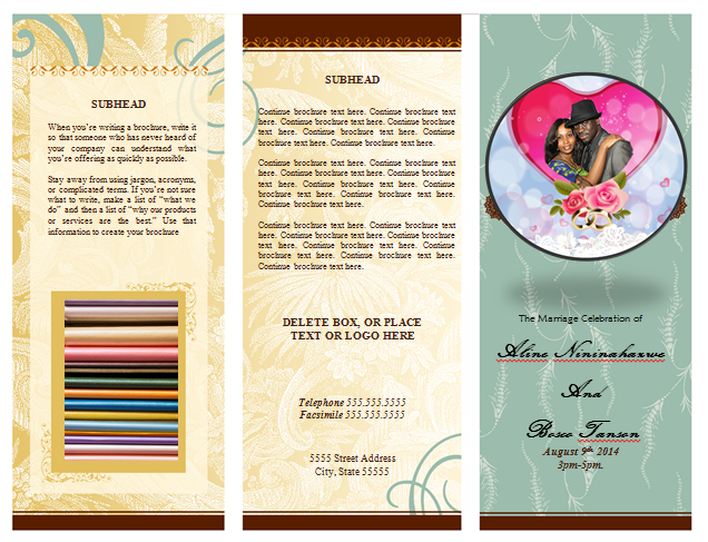 I need a wedding program template job for 2 by cyberskop seoclerks i need a wedding program template pronofoot35fo Image collections