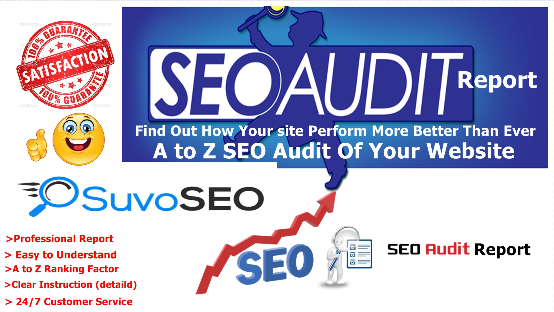 high quality website audit report and google seo ranking factors this advanced seo audit report will cover these things for you our professional seo audit gives you 10004titles 10004meta descriptions 10004meta keywords