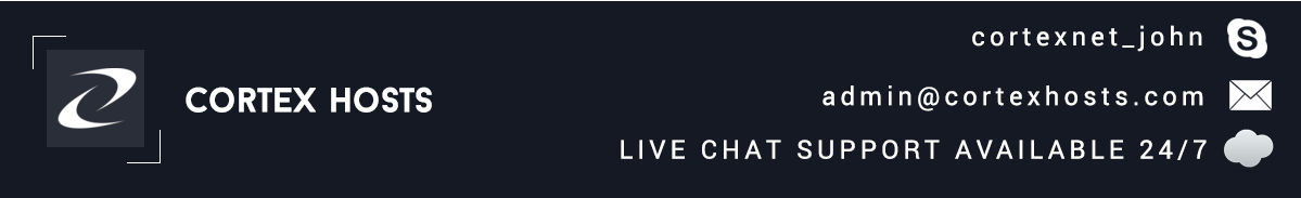Cortex Hosts - Australian Premium Hosting Services!!!!