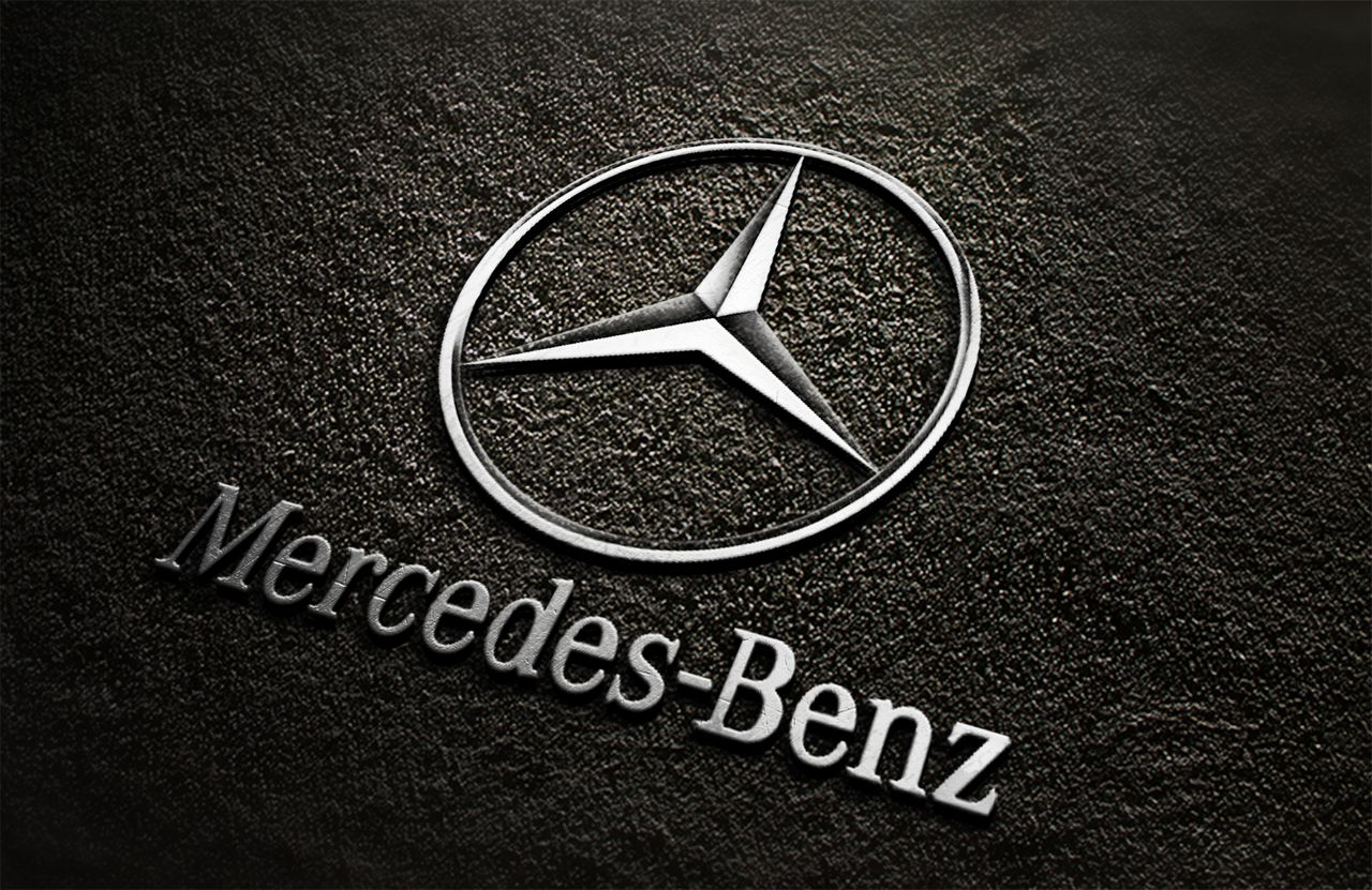 Mercedes Benz Logo Black Background Www Imgkid Com The