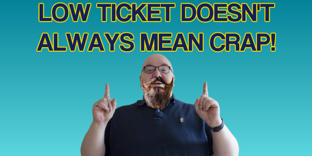High or Low Ticket Products  - How, When and Why  - SEOClerks
