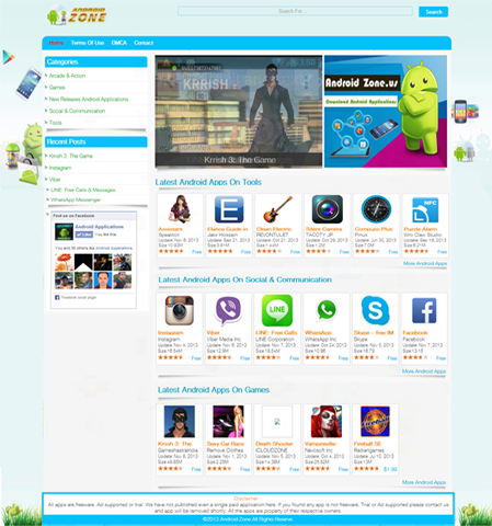 Android Apps SEO Friendly Wordpress Theme for $50 - SEOClerks