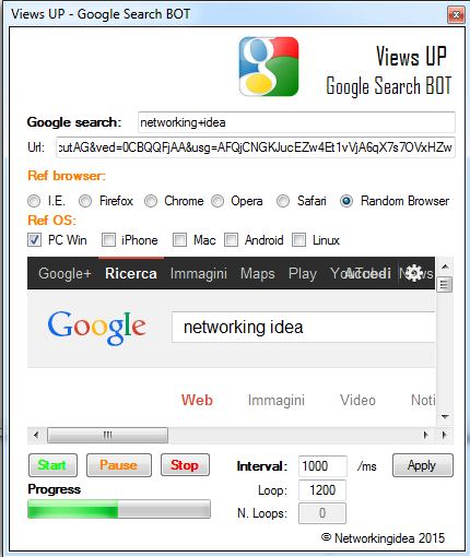 Views UP BOT 2016 v3.0.2.0 Professional