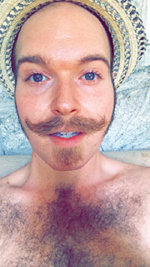 MoustachedWrite